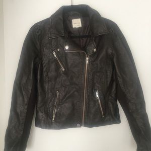 Urban Outfitters vegan leather jacket